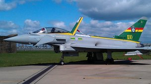 Typhoon at RAF Coningsby