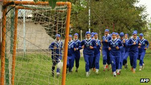 Iranian Malavan Anzali women's football team