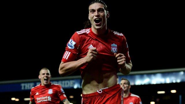 Andy Carroll scores against Blackburn