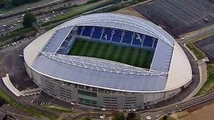Brighton's new Amex Stadium