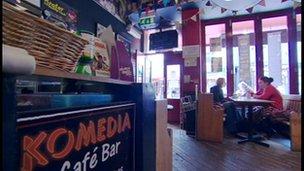 Komedia cafe bar