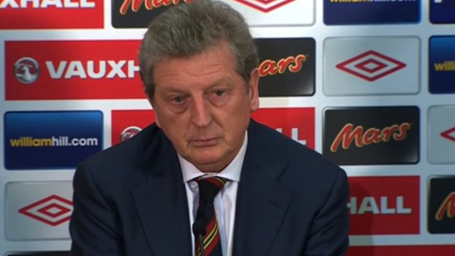 England manager, Roy Hodgson