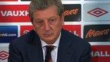 England manager, Roy Hodgson