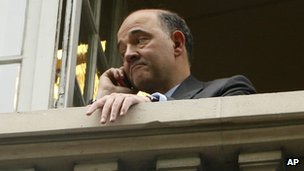 Pierre Moscovici in Paris, 7 May