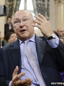 Michael Sapin in Paris, 15 May