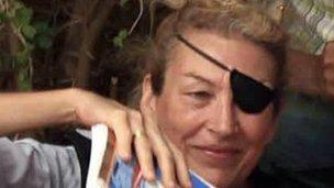 Marie Colvin in Misrata, Libya