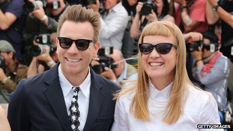 Ewan McGregor and Andrea Arnold