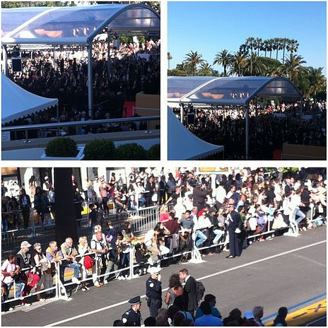 Crowds at Cannes