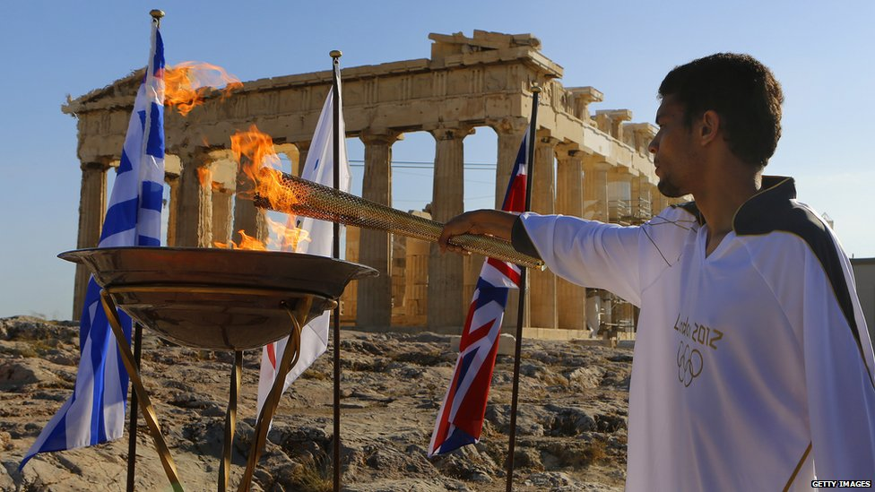 Olympic Torch_Greece