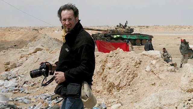 Anton Hammerl in Libya