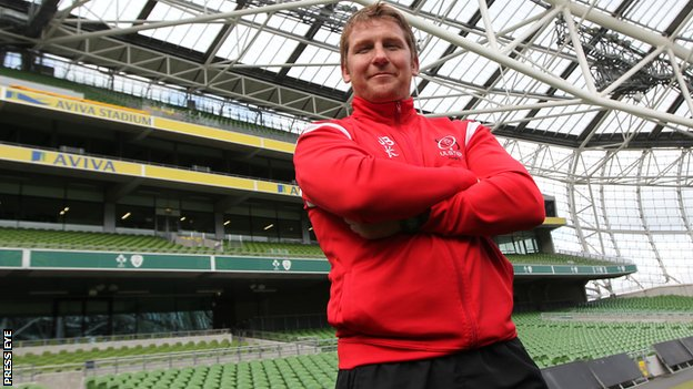 Ulster coach Jonny Bell