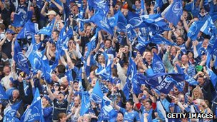 Leinster fans after semi-final win