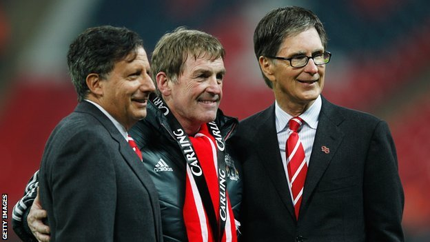 Tom Werner, Kenny Dalglish and John W Henry