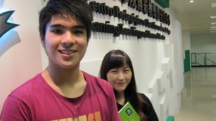 Tommy Cheang and Yoki Leung