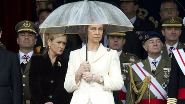 Spain&#039;s Queen Sofia (4 May)