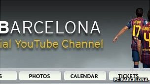 FC Barcelona official YouTube channel
