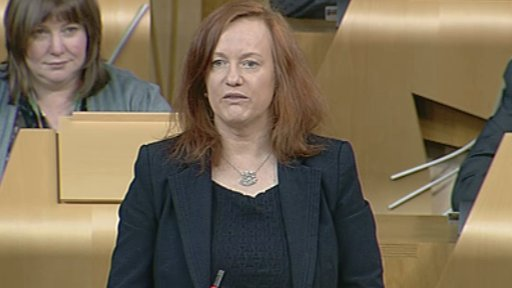 SNP MSP Joan McAlpine