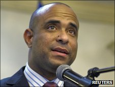 Prime Minister Laurent Lamothe