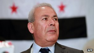 SNC leader Burhan Ghalioun. Photo: April 2012