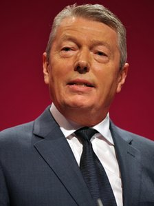 Alan Johnson at the Labour Party conference in 2010