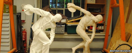 Discobolus ancient and modern