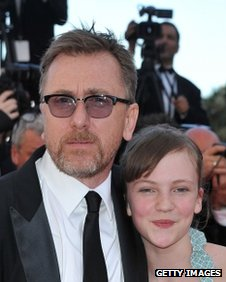 Tim Roth and Eloise Laurence