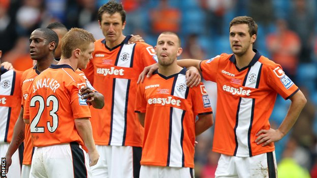 luton town results