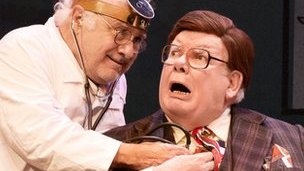 The Sunshine Boys Danny DeVito and Richard Griffiths