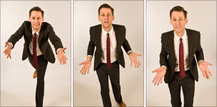 Scott Capurro three-way picture