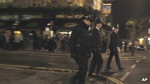 Police in Soho