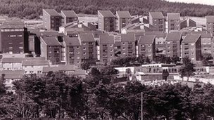 Archive picture of Penrhys (Photo: Rhondda Leader)
