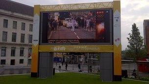 Big Screen in Greenwich