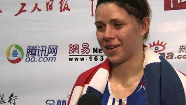 World boxing champion, Savannah Marshall