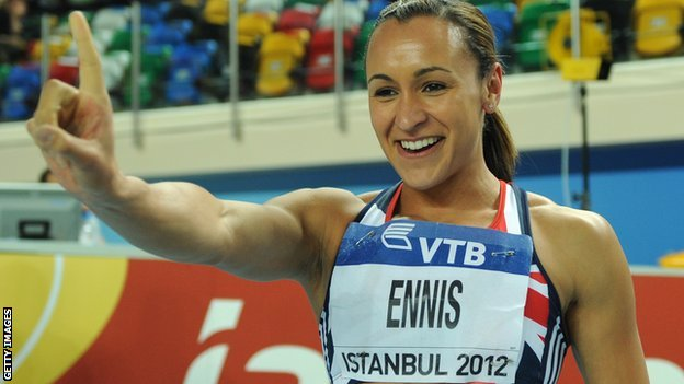 Heptathlon world champion Jessica Ennis