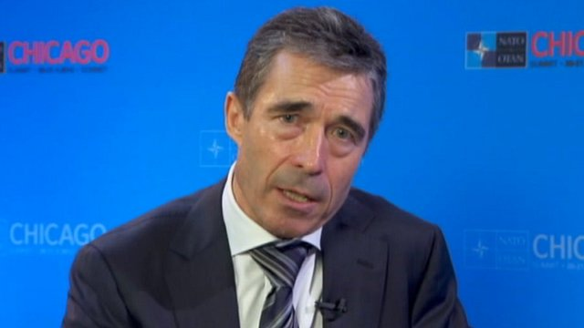 Anders Fogh Rasmussen on The Andrew Marr Show