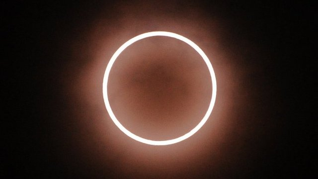 The annular solar eclipse seen from Tokyo
