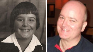 Stuart Penny then and now