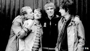 The Stone Roses - Reni, Mani, Ian Brown and John Squire