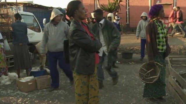 Marketplace in Zambia