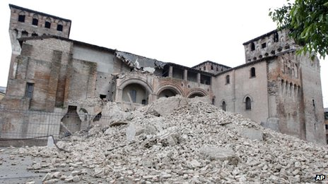 La Rocca Estense in San Felice sul Panaro