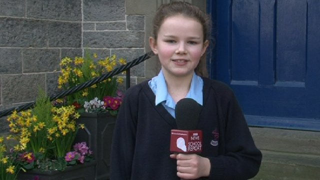 School Reporters from Howell's School in Cardiff on London 2012