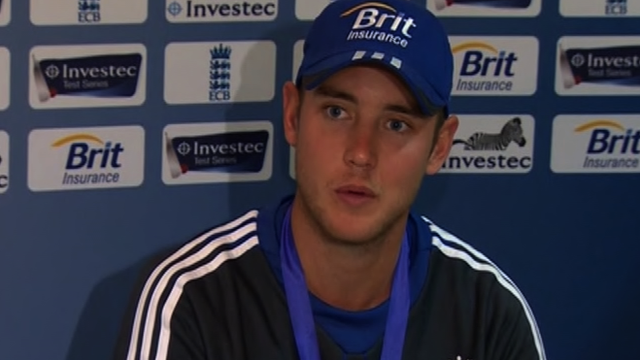 England all-rounder Stuart Broad