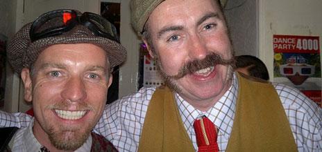 Ewan McGregor and Matt Hooper