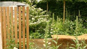 Caravan Club garden at the Chelsea Flower Show