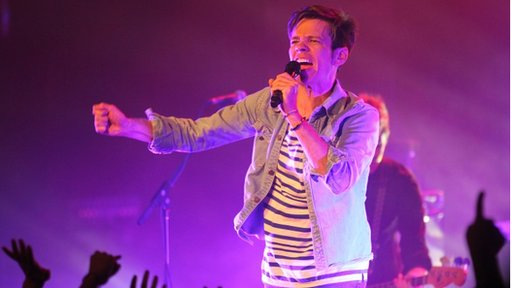 Nate Ruess of Fun