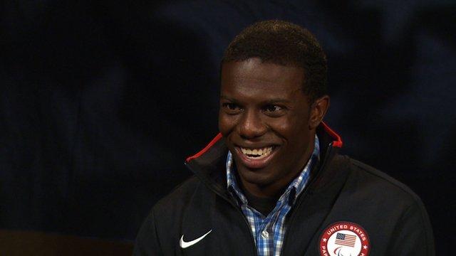 Paralympic champion Jerome Singleton