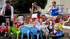 'Little munchkins' tea party'