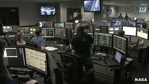 SpaceX mission control