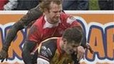 Cornish Pirates beat London Welsh at the Mennaye in January