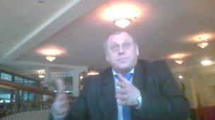 Volodymyr Gerashchenko had been head of Ukraine's National Olympic Committee since 1997